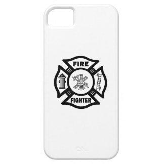 Étui iPhone 5 Croix maltaise de pompier