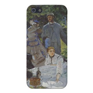 Étui iPhone 5 Déjeuner sur l'herbe, panneau central (1865)