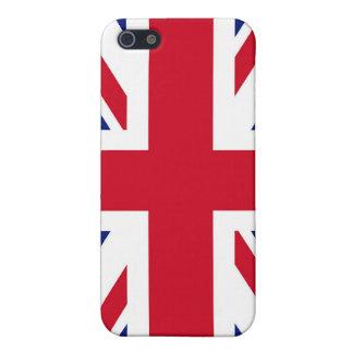 Étui iPhone 5 Drapeau britannique d'Union Jack