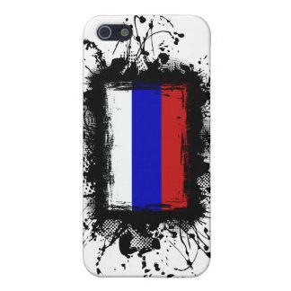 Étui iPhone 5 Drapeau de la Russie