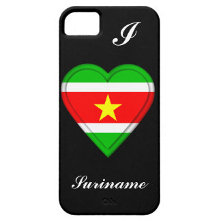 Étui iPhone 5 Drapeau du Surinam