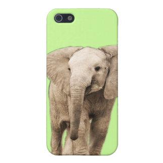 Étui iPhone 5 Éléphant mignon de bébé