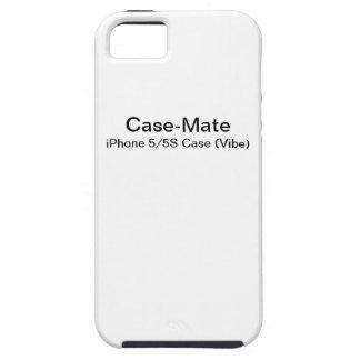 Étui iPhone 5 Faites votre propre cas de l'iPhone 5 (le Vibe)