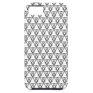 Étui iPhone 5 Falluminati Onix noir par le lézard d'Umberto