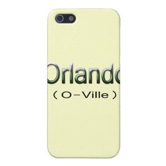 Étui iPhone 5 Grn d'Orlando (O-Ville)