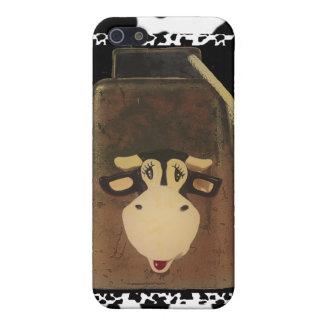 Étui iPhone 5 Grunge de pays de Bell de vache