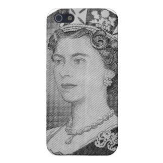 Étui iPhone 5 iPhone de portrait de jubilé de la Reine Elizabeth