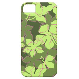 Étui iPhone 5 iPhone floral hawaïen de Hanalei 5 cas