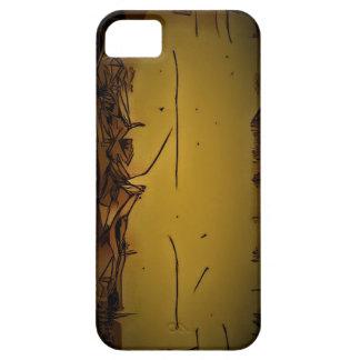 Étui iPhone 5 jaune cadeau extraordinaire puissant unique c