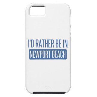 Étui iPhone 5 Je serais plutôt en plage de Newport