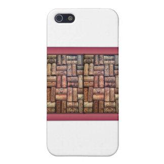 Étui iPhone 5 Le vin bouche le collage