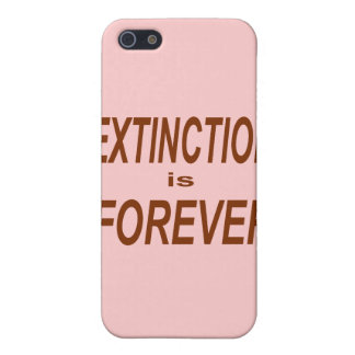 Étui iPhone 5 L'extinction est Forever