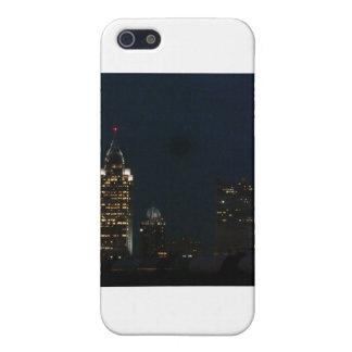 Étui iPhone 5 Lumières de ville de nuits de ville