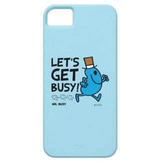 Étui iPhone 5 M. Busy | nous a laissés obtenir le texte noir
