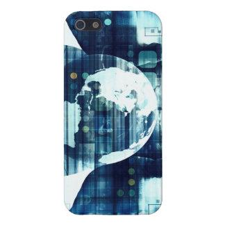 Étui iPhone 5 Monde de Digitals et industrie de mode de vie de