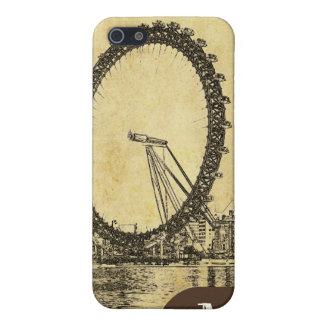 Étui iPhone 5 Oeil de PixDezines Londres, monogramme disponible