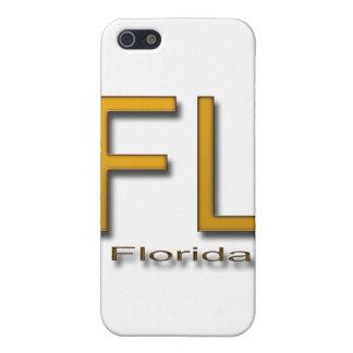 Étui iPhone 5 Or de FL la Floride