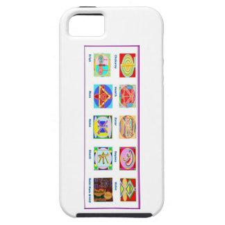Étui iPhone 5 Outils principaux de Reiki - dons des symboles n