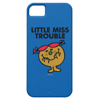Étui iPhone 5 Petite Mlle Trouble | riant