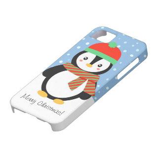 Étui iPhone 5 Pingouin personnalisable de vacances
