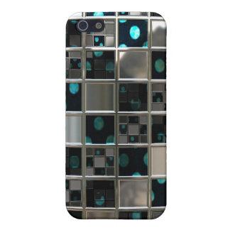 Étui iPhone 5 Pois réfléchissant de miroir