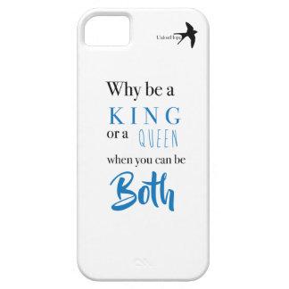 Étui iPhone 5 Pourquoi soyez un roi ? Téléphonez le cas
