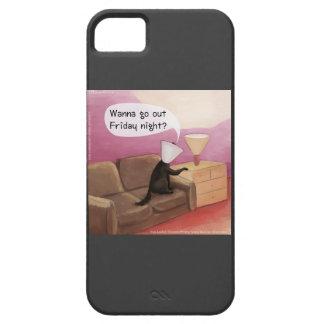 Étui iPhone 5 Poursuivez le cône datant le cas drôle de l'iPhone