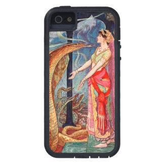 Étui iPhone 5 Reine des serpents illustrés