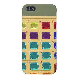 Étui iPhone 5 Rétro calculatrice ornée de bijoux
