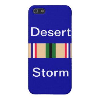 Étui iPhone 5 Ruban de tempête du désert