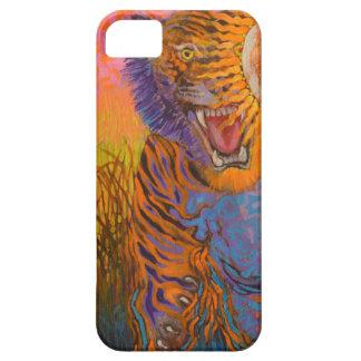 Étui iPhone 5 Sautant le tigre - cas de téléphone d'animal