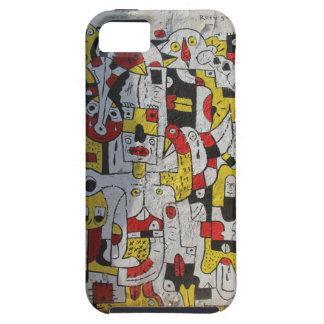 Étui iPhone 5 Se d'iphone + Cas de 5 téléphones avec l'image de