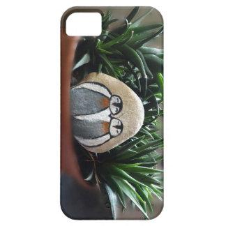Étui iPhone 5 Se en pierre d'iPhone de pingouins + iPhone 5/5S
