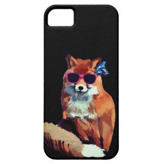 Étui iPhone 5 Se génial d'iPhone de Fox + iPhone 5/5S, à peine