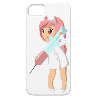 Étui iPhone 5 Telefoonhoesje «infirmière».