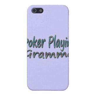 Étui iPhone 5 Tisonnier Playin Gramma