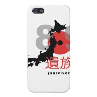 Étui iPhone 5 Tremblement de terre 8,9 du Japon