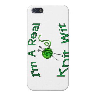 Étui iPhone 5 Un vrai esprit de Knit