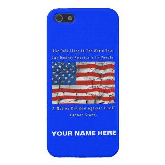 Étui iPhone 5 Une nation divisée