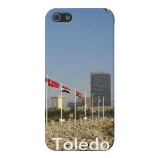 Étui iPhone 5 Ville de Toledo Ohio