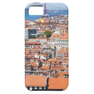 Étui iPhone 5 Vue aérienne de Lisbonne, Portugal