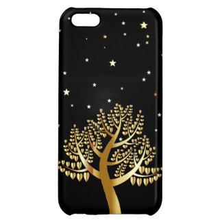 Étui iPhone 5C Arbre d'or