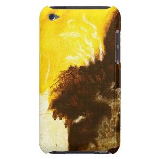 Étui iPod Touch La peinture d'art abstrait s'égoutte des
