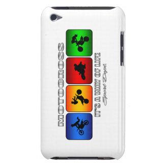 Étui iPod Touch Motocross frais c'est un mode de vie