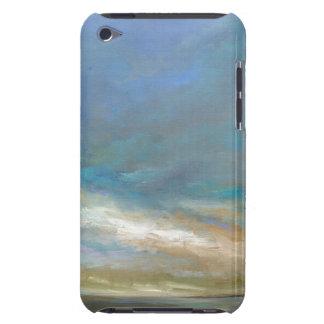 Étui iPod Touch Nuages côtiers avec l'océan