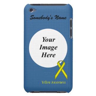 Étui iPod Touch Ruban standard jaune par Kenneth Yoncich