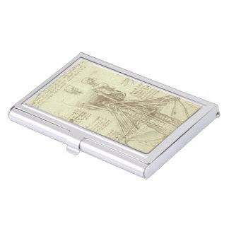 Étui Pour Cartes De Visite Colonne vertébrale d'anatomie humaine par Leonardo