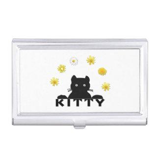 Étui Pour Cartes De Visite Fleurs de Kitty