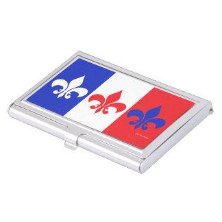 """Étui Pour Cartes De Visite """"Français porte-cartes de carte de visite de Flag"""