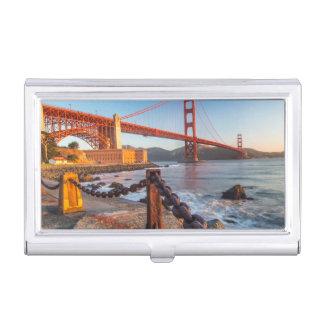 Étui Pour Cartes De Visite Golden gate bridge de point de fort